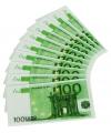 100 euro servetten