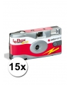 15 wegwerp cameras met flitser