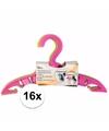 16x kledinghangers voor babykleding meisjes