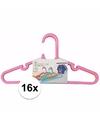 16x kledinghangers voor kinderkleding meisjes