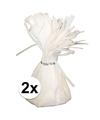2 ballongewichten wit 170 gr