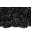 20 zwarte knutsel pompons 20 mm