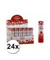 24 bruiloft party poppers 20 cm