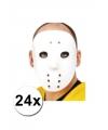 24 ijshockey maskers