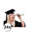 24 luxe afstudeer hoedjes