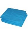 25 turquoise servetten 33 x 33 cm
