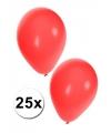 25x rode ballonnen