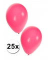 25x roze ballonnen