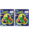 3 gekleurde jongleerballen