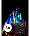 3 pakjes mystical fire gekleurde vlammen