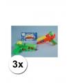 3 voordelig waterpistooltjes gekleurd