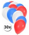 30x ballonnen in australische kleuren