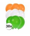 30x ballonnen in indische kleuren