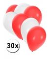 30x ballonnen in indonesische kleuren