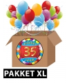 35 jaar versiering voordeel pakket xl