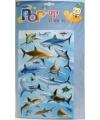 3d haaien stickers