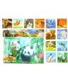 3d panda placemats en onderzetters