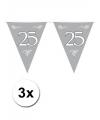3x jubileum vlaggenlijn 25 jaar