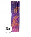 3x party confetti shooter 80 cm