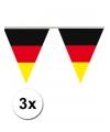 3x vlaggenlijn duitsland 5 meter