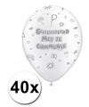 40 communie ballonnen 30 cm