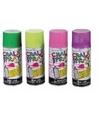 4x krijtspray groen fluorgeel roze paars 100 ml