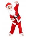 5 delig kerstman peuter kostuum