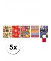 5 rollen sinterklaas kadopapier 200 x 70 cm