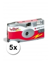 5 wegwerp cameras met flitser