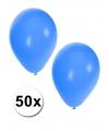 50 ballonnen blauw