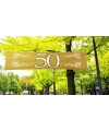 50 jaar jubileum banner