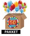 50 jaar versiering voordeel pakket