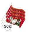 50 sinterklaas zwaaivlaggetjes 20 x 30 cm