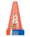 6 oranje pionnen 23 cm