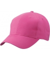 6 panel baseball cap fuchsia