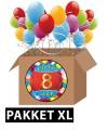 8 jaar versiering voordeel pakket xl