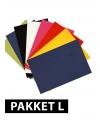 A4 hobby karton basis kleuren 36 stuks