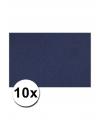 A4 hobby karton blauw 10 stuks