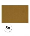 A4 hobby karton bruin 5 stuks