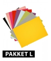 A4 hobby karton gekleurd 72 stuks