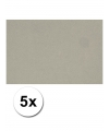 A4 hobby karton grijs 5 stuks