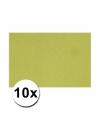 A4 hobby karton groen 10 stuks