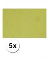 A4 hobby karton groen 5 stuks