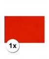 A4 hobby karton rood