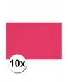 A4 hobby karton roze 10 stuks