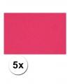 A4 hobby karton roze 5 stuks