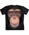Aap t shirt chimpansee voor volwassenen