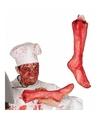Afgehakt been met bloed 40 cm