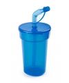 Afsluitbare drinkbeker blauw