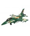 Air force speelgoed vliegtuig groen